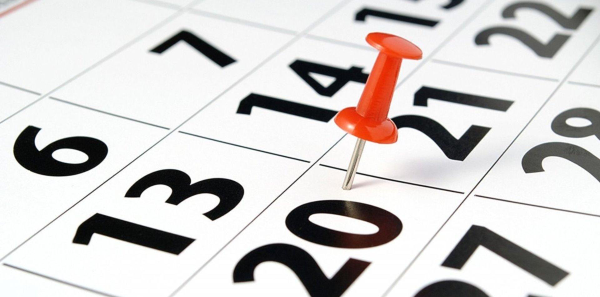 Luego del feriado de Carnaval, ¿cuándo será el próximo fin de semana largo?