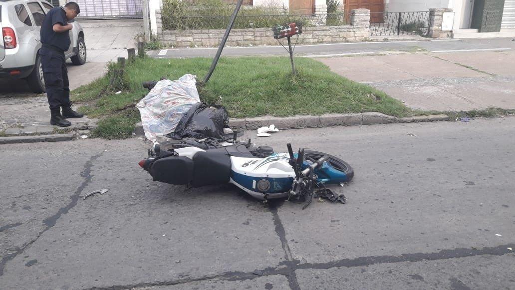 2c46f83b1f85 Murió un trabajador de Nini al caer de su moto en 3 y 520 e ...