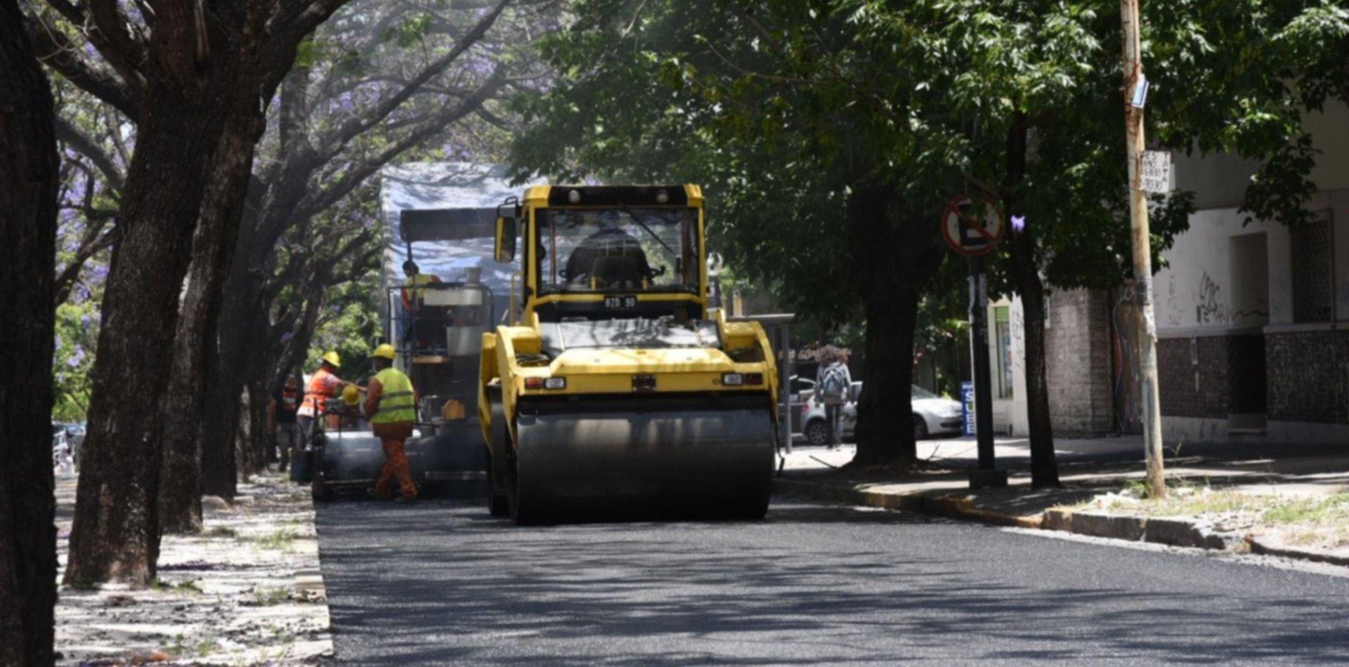Separador central parquizado, dársenas y rampas: arranca la obra de ensanche de avenida 38