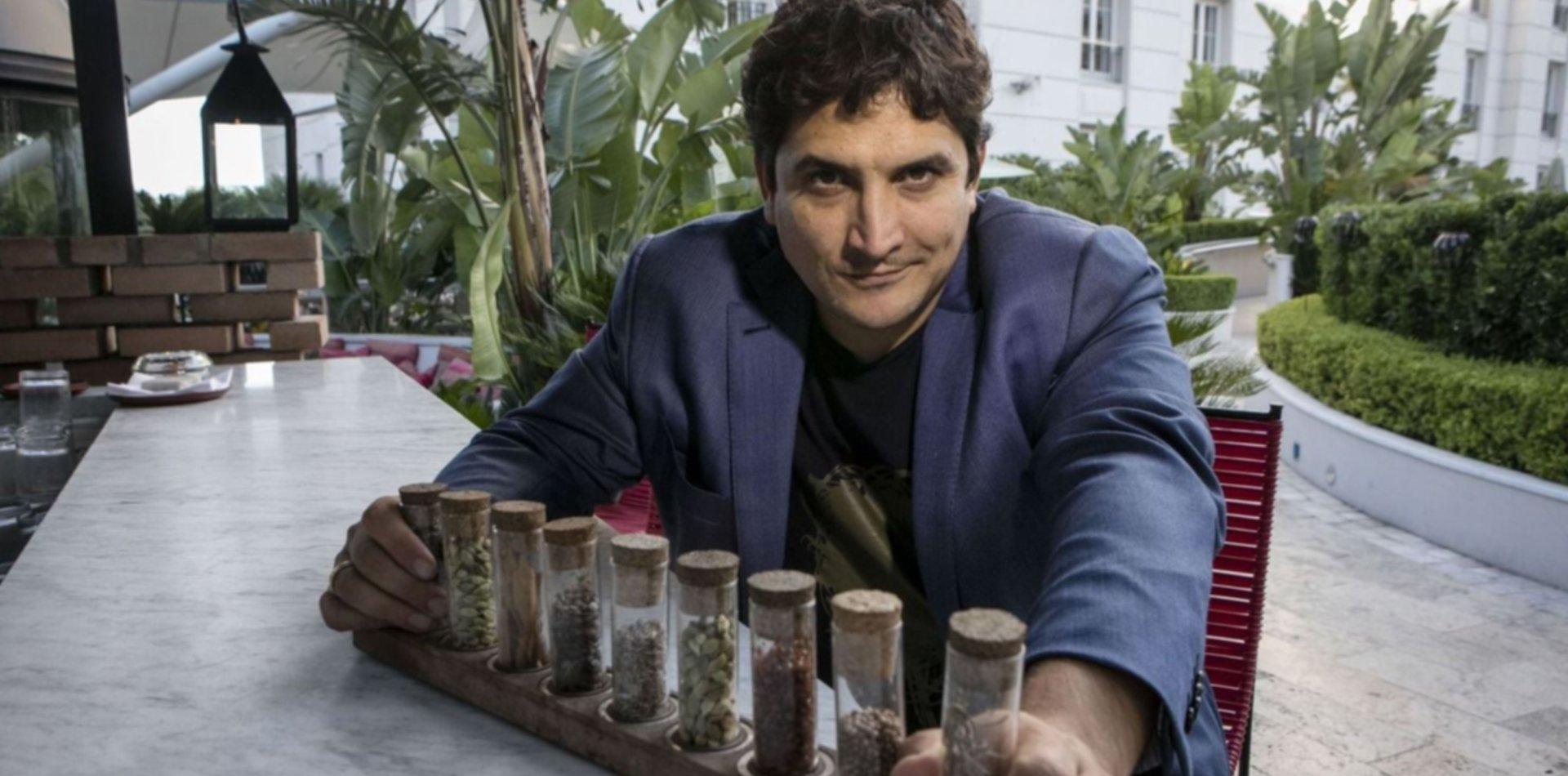 El platense Mauro Colagreco fue distinguido entre los 10 mejores chef del mundo