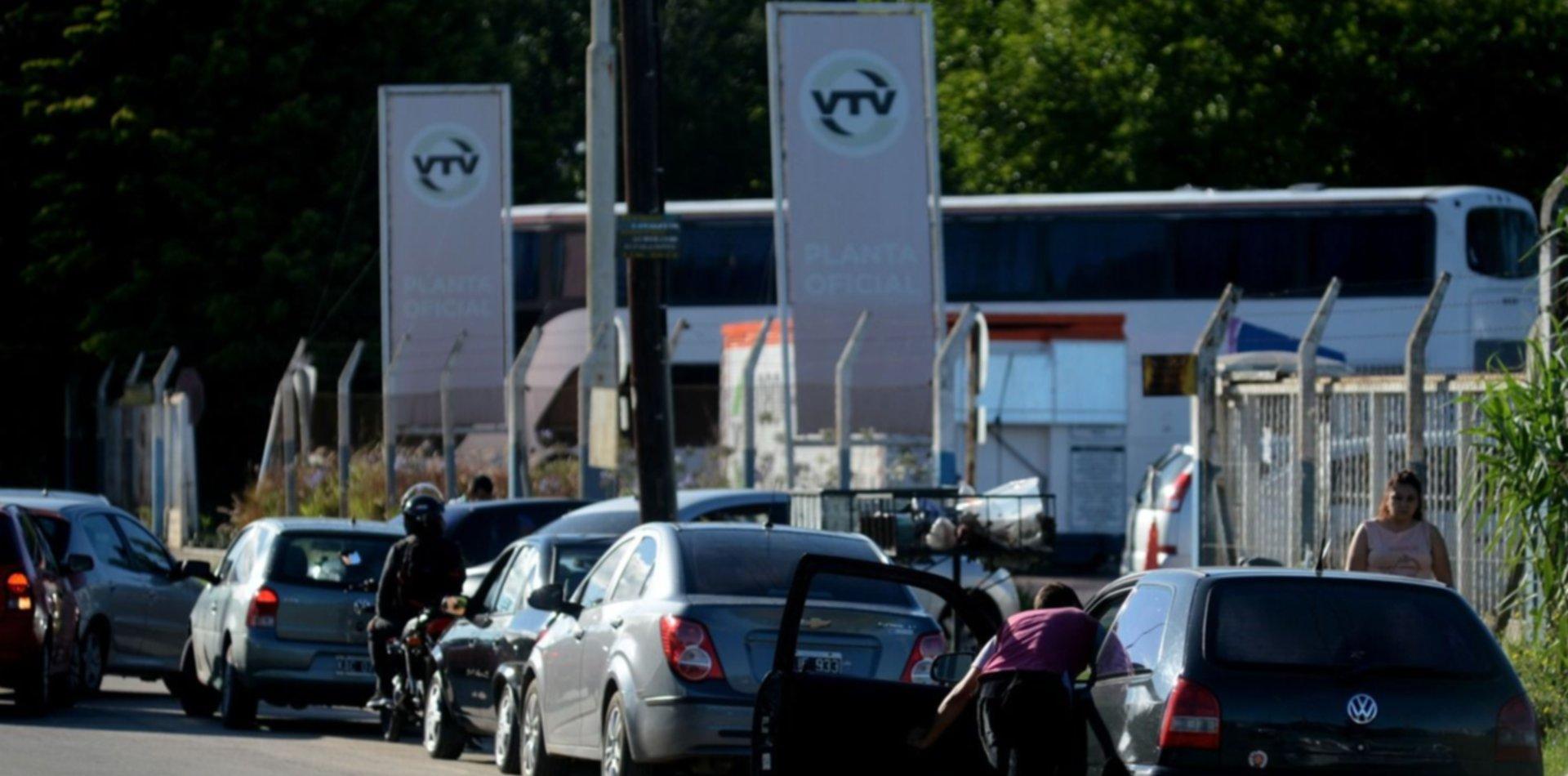 Las plantas de la VTV empiezan a trabajar para algunos vehículos especiales