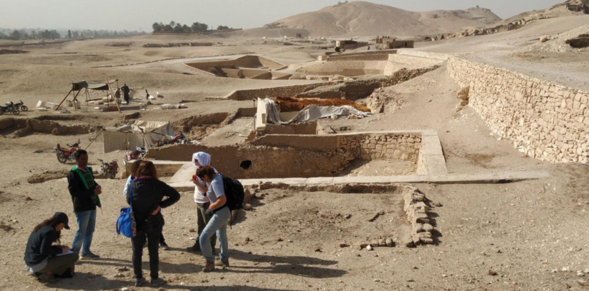 Gracias a los platenses, expertos de la UNLP revelarán los secretos de una tumba milenaria en Egipto
