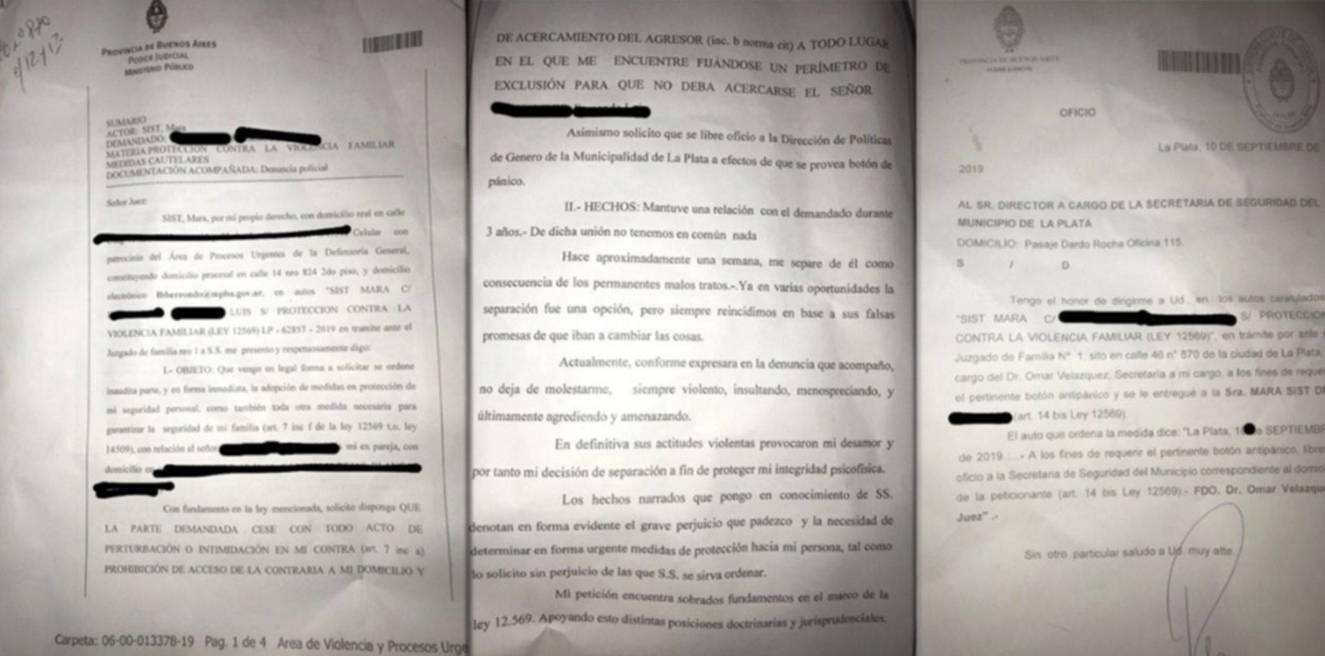 Empujones, amenazas y violencia: la denuncia que tenía uno de los rugbiers de Universitario