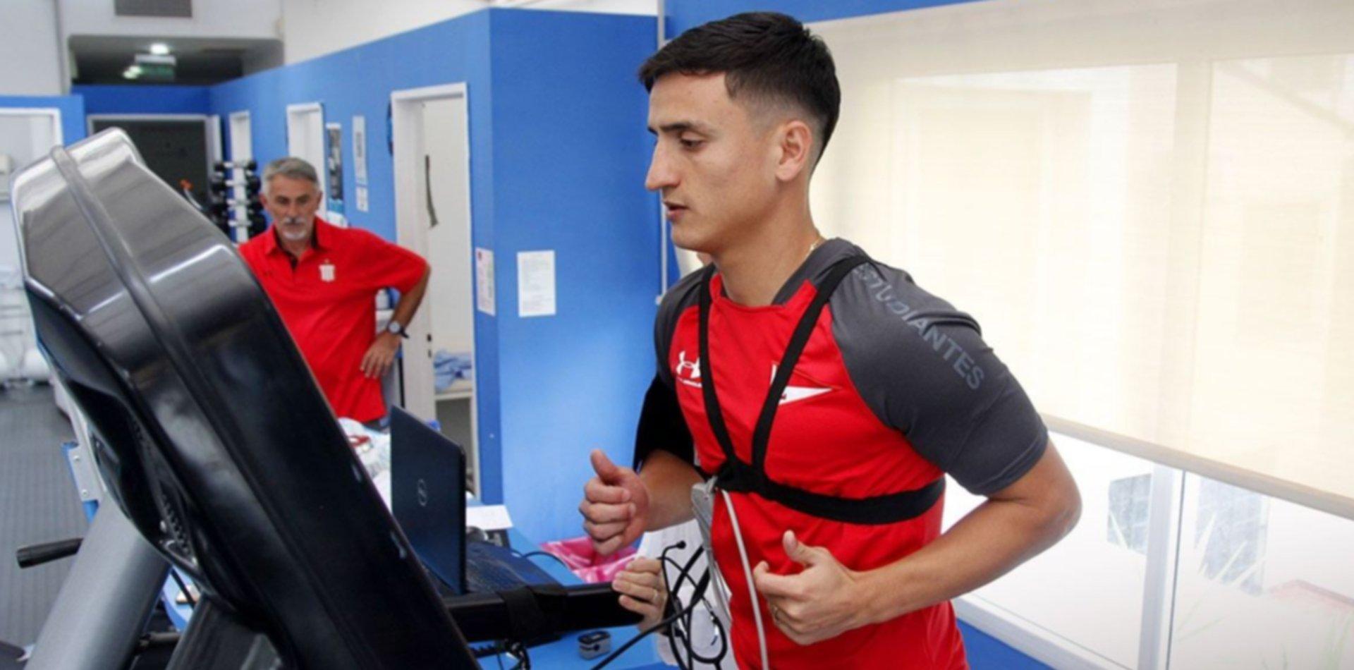 Mauro Díaz pasó la revisación y el jueves firma como nuevo refuerzo de Estudiantes