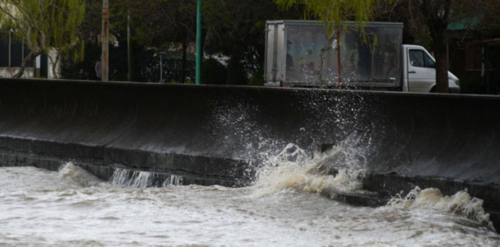 Alerta en la región por otra crecida en el Río de la Plata