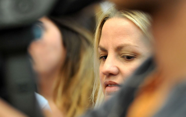 Carolina Piparo confirmó que le ofreció zapatillas al menor atropellado por su esposo