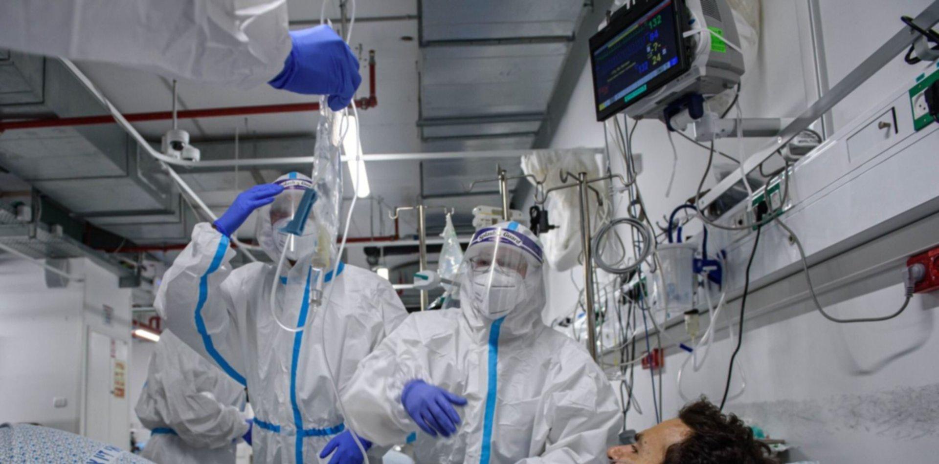 Argentina registró 5.417nuevos casos de coronavirus y 163muertes en 24 horas