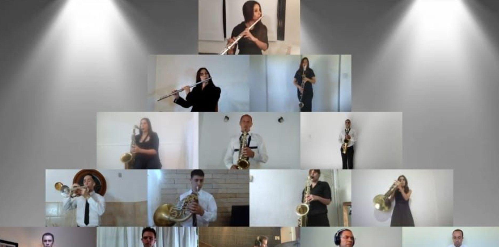 VIDEO: La banda del SPB grabó un enganchado de temas de Virus con Federico Moura