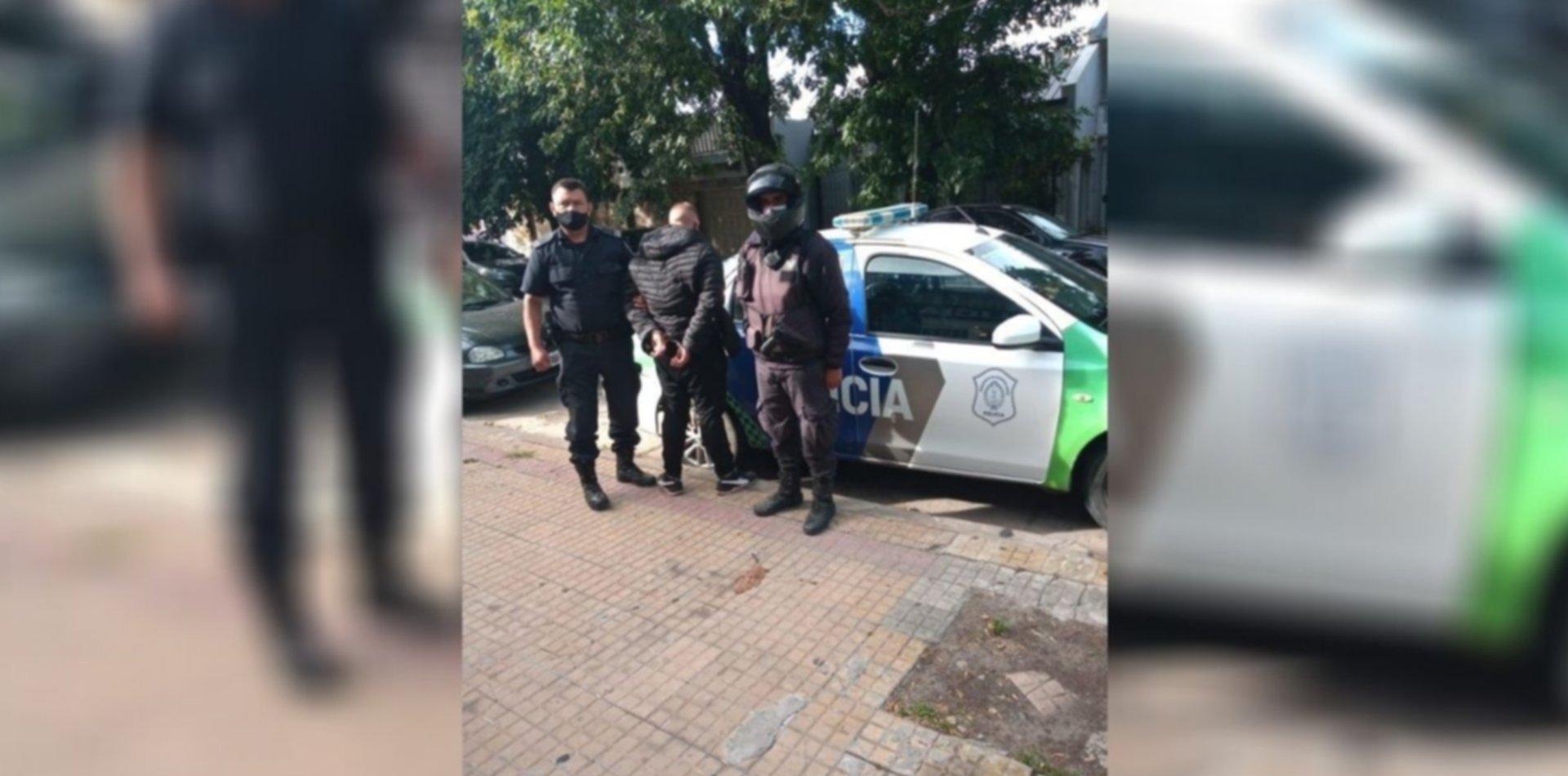 Tenía dos pedidos de captura y lo atraparon en un operativo anti motochorros en La Plata