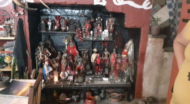 El santuario satánico de Papupa