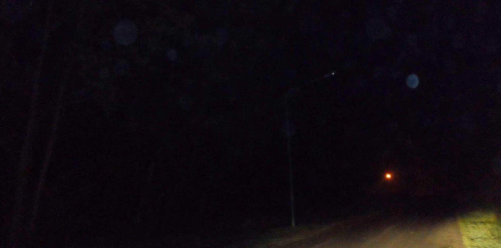 Así fue la misteriosa aparición de un humanoide en Ensenada la noche del eclipse