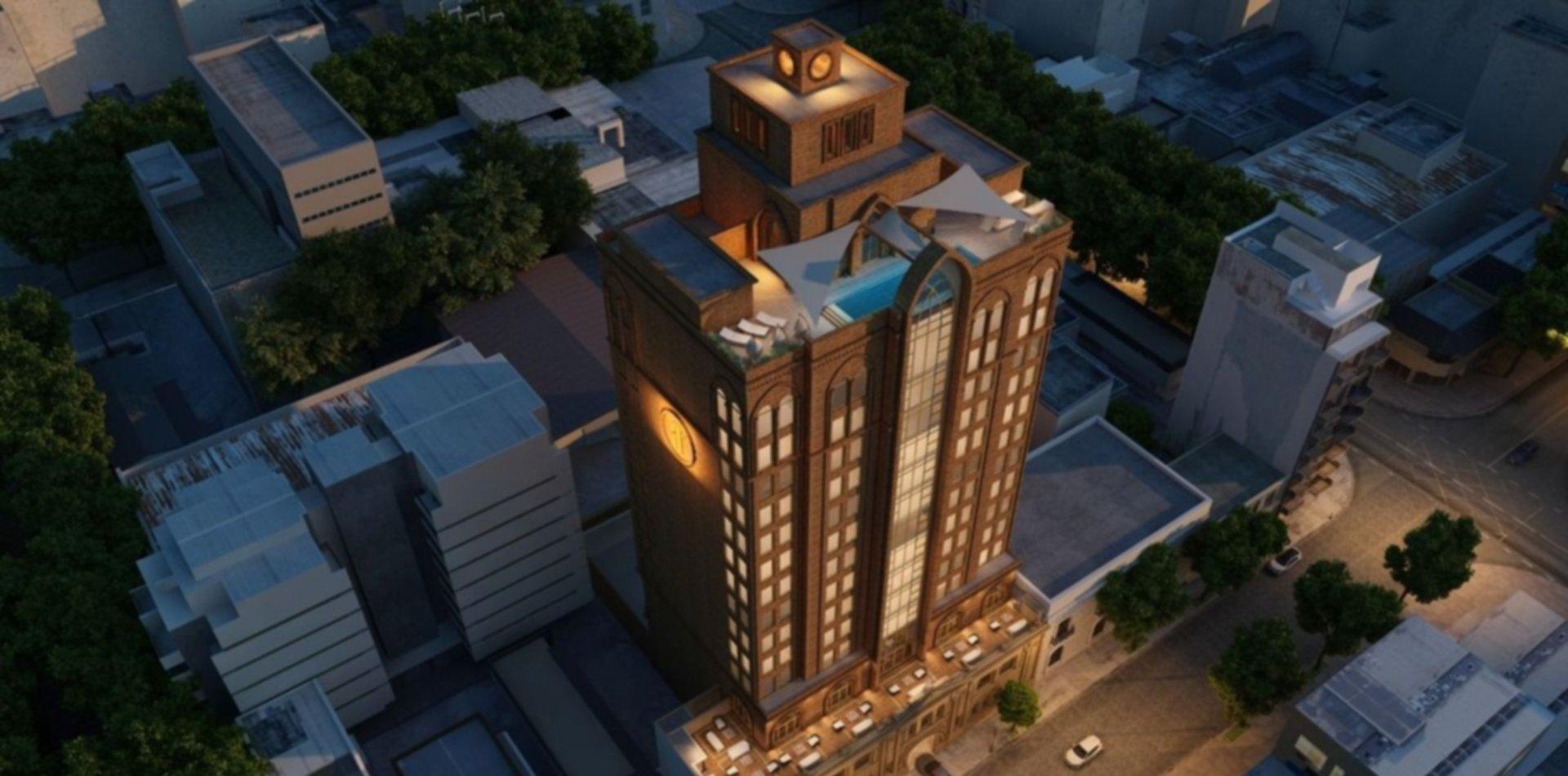 Llega Argoth Hotel & Business, el primer edificio corporativo de La Plata