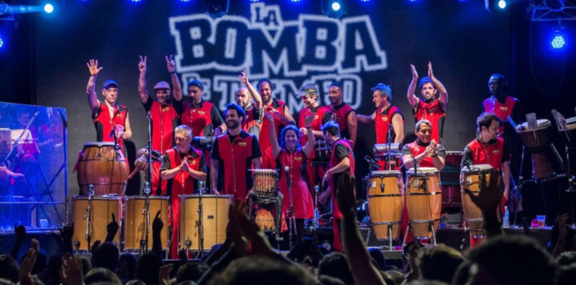La Bomba del Tiempo vuelve a La Plata con un espectáculo que revoluciona los teatros