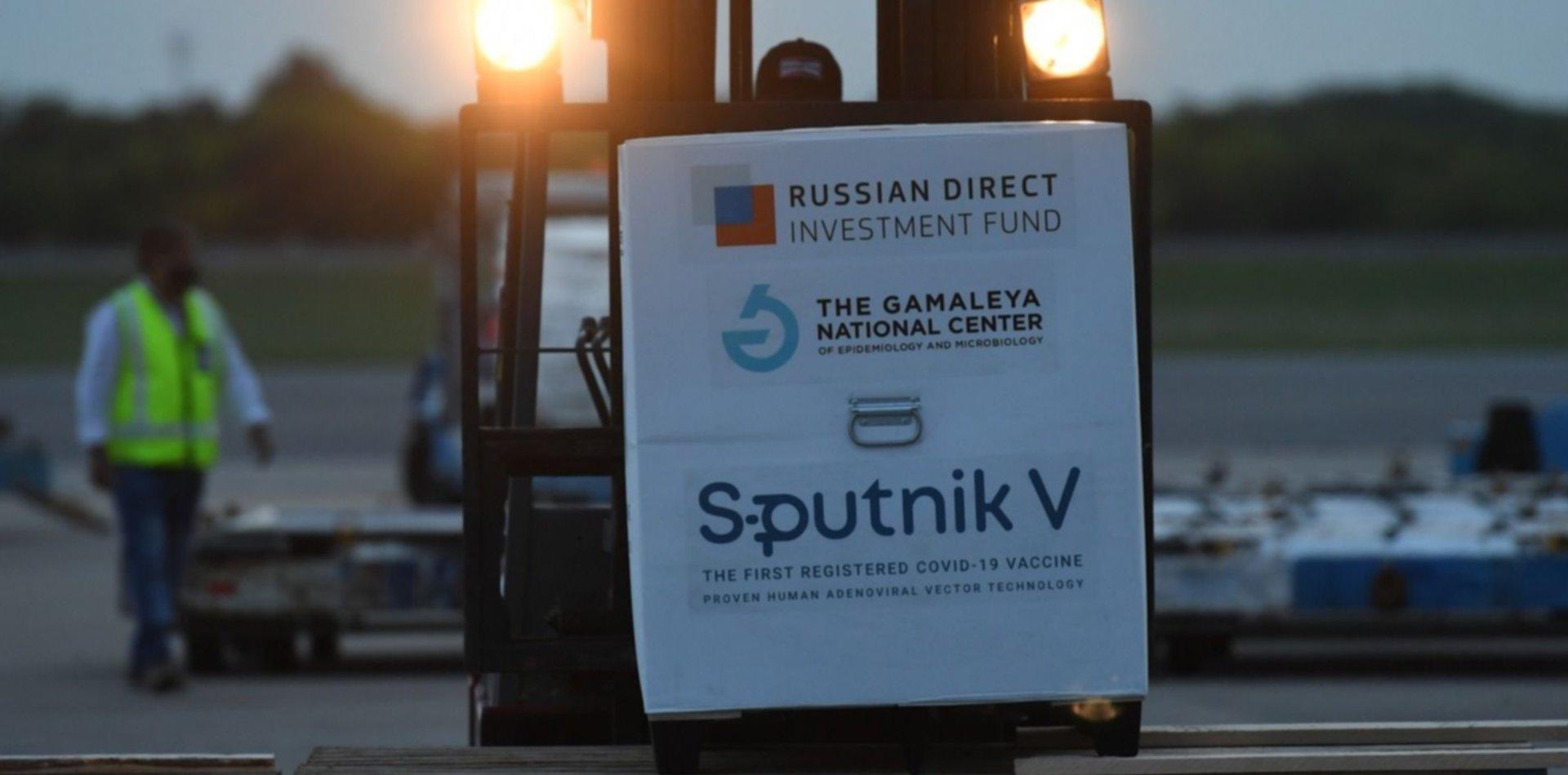 Llegarán 1.200.000 nuevas vacunas Sputnik V al país