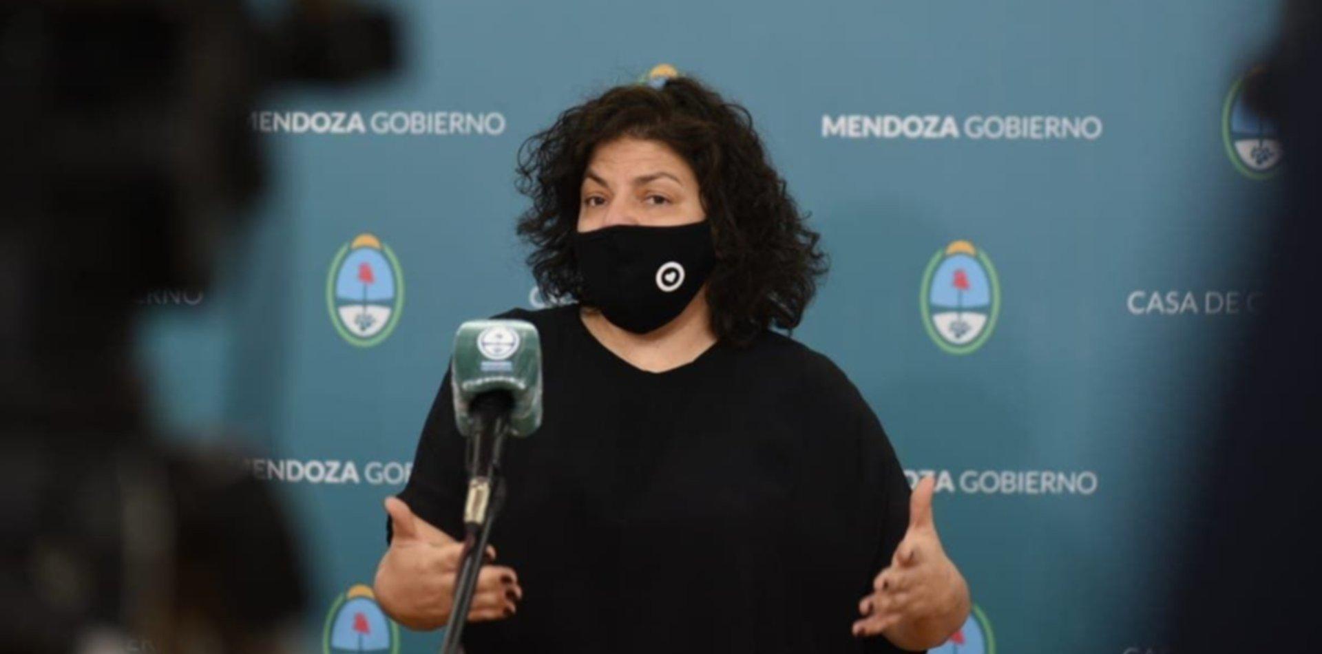 La ministra de Salud Carla Vizzotti tiene coronavirus