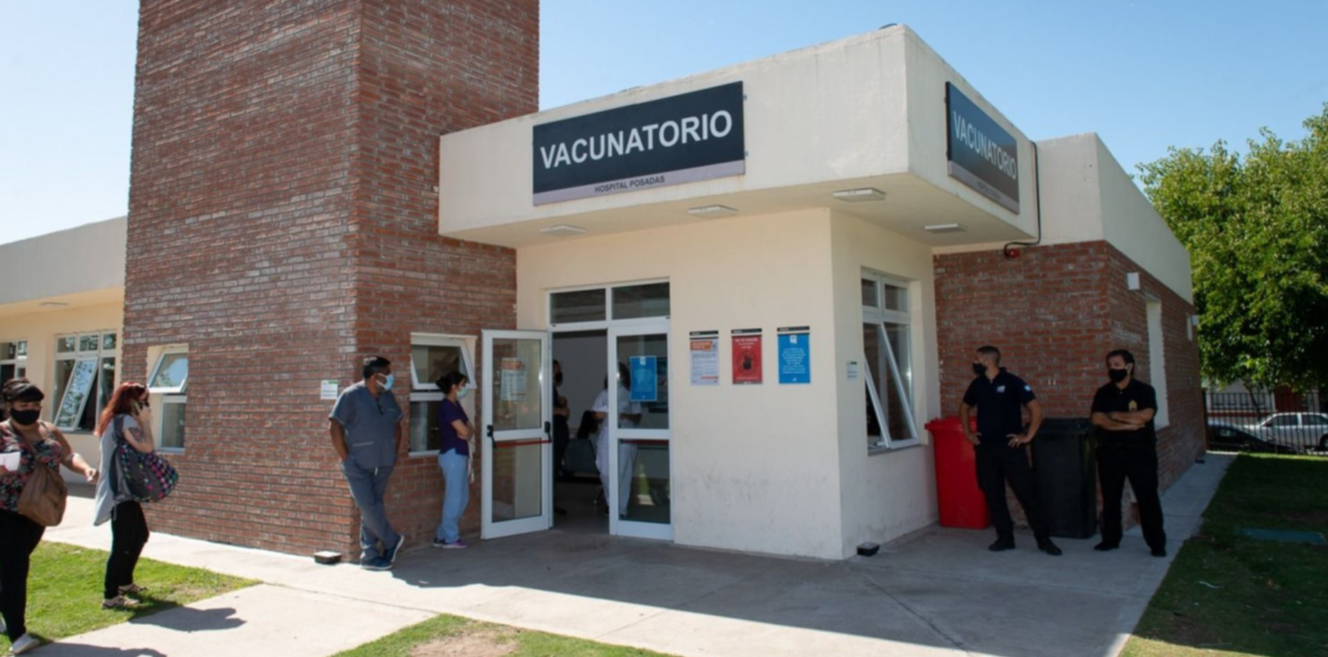 Vacunas VIP: publican el listado oficial de las personas atendidas en el Hospital Posadas