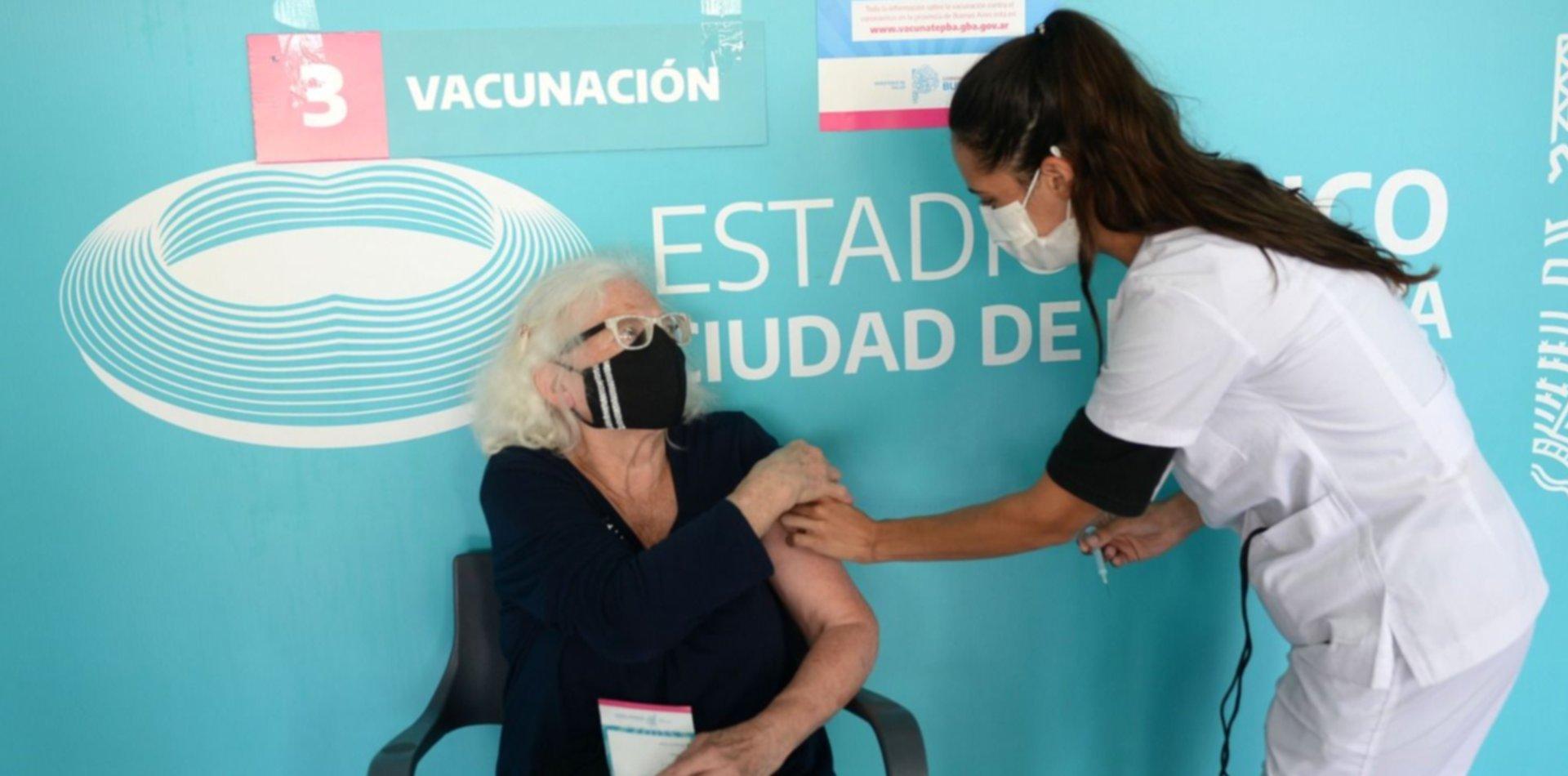 Más de 9 millones de personas en la provincia ya fueron vacunadas