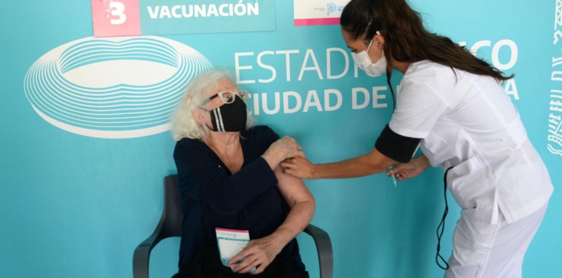 Así avanza el plan de vacunación contra el coronavirus en la Provincia