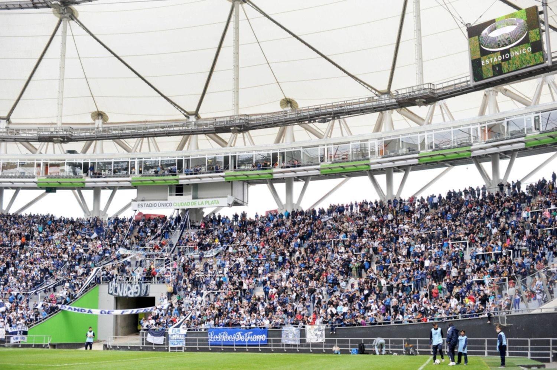 Gimnasia evalúa mudar su localía al Estadio Único para la vuelta de los hinchas