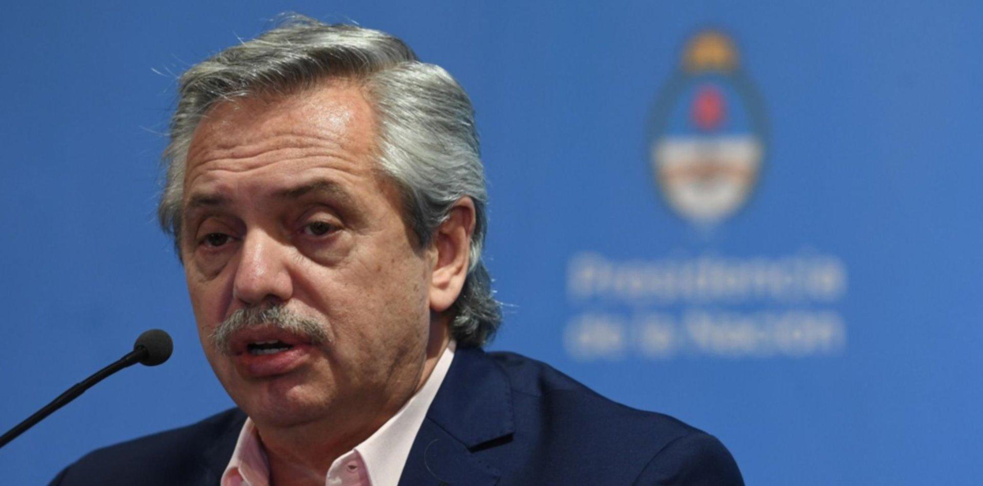 """Alberto Fernández dijo que es """"canallesco"""" sembrar dudas sobre el crimen de Gutiérrez"""