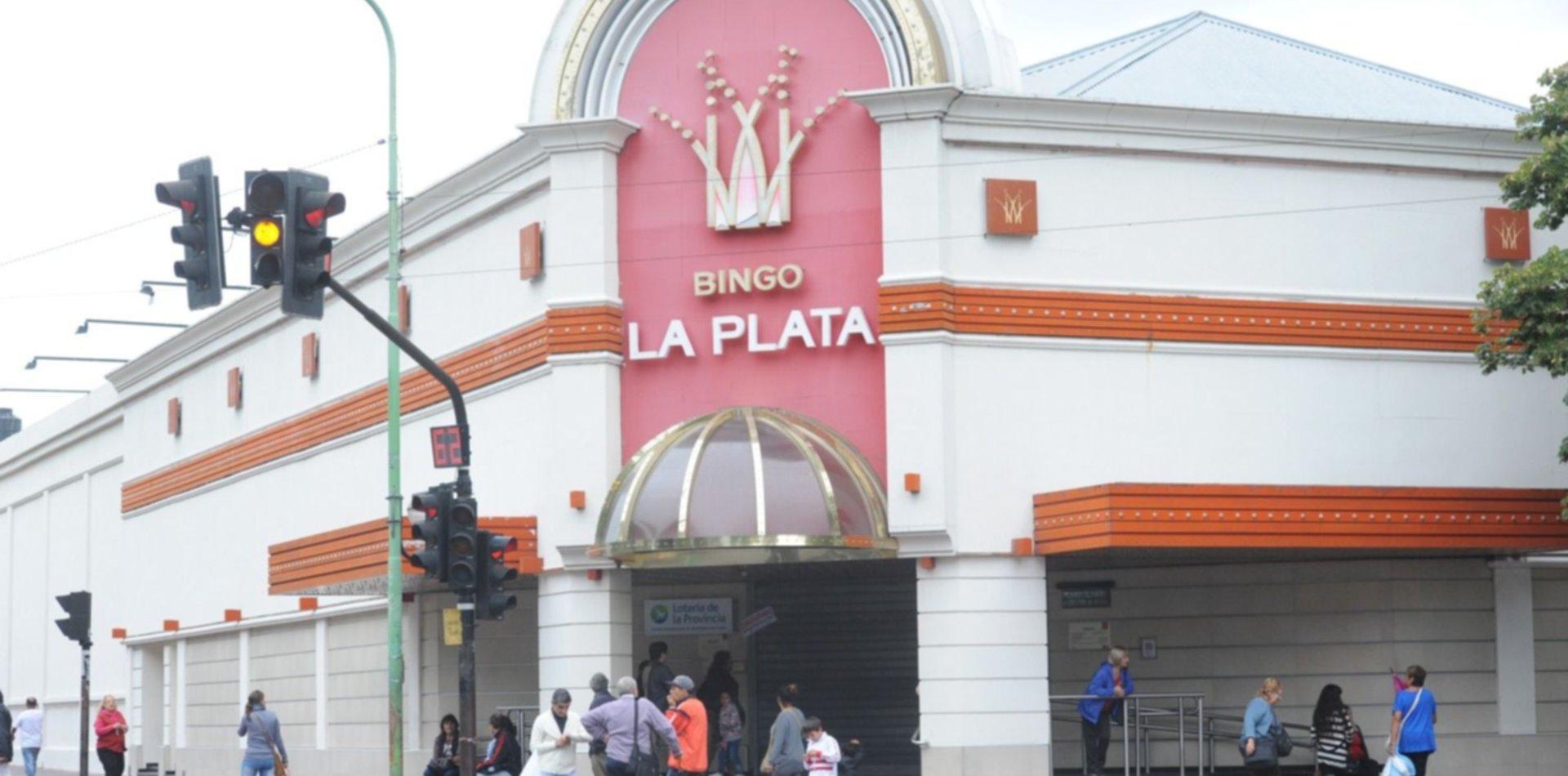 Después de tres meses, vuelve a reabrir el Bingo de La Plata