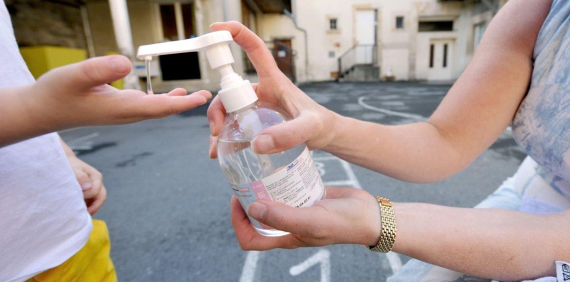 Prohibieron en todo el país la comercialización de un alcohol en gel