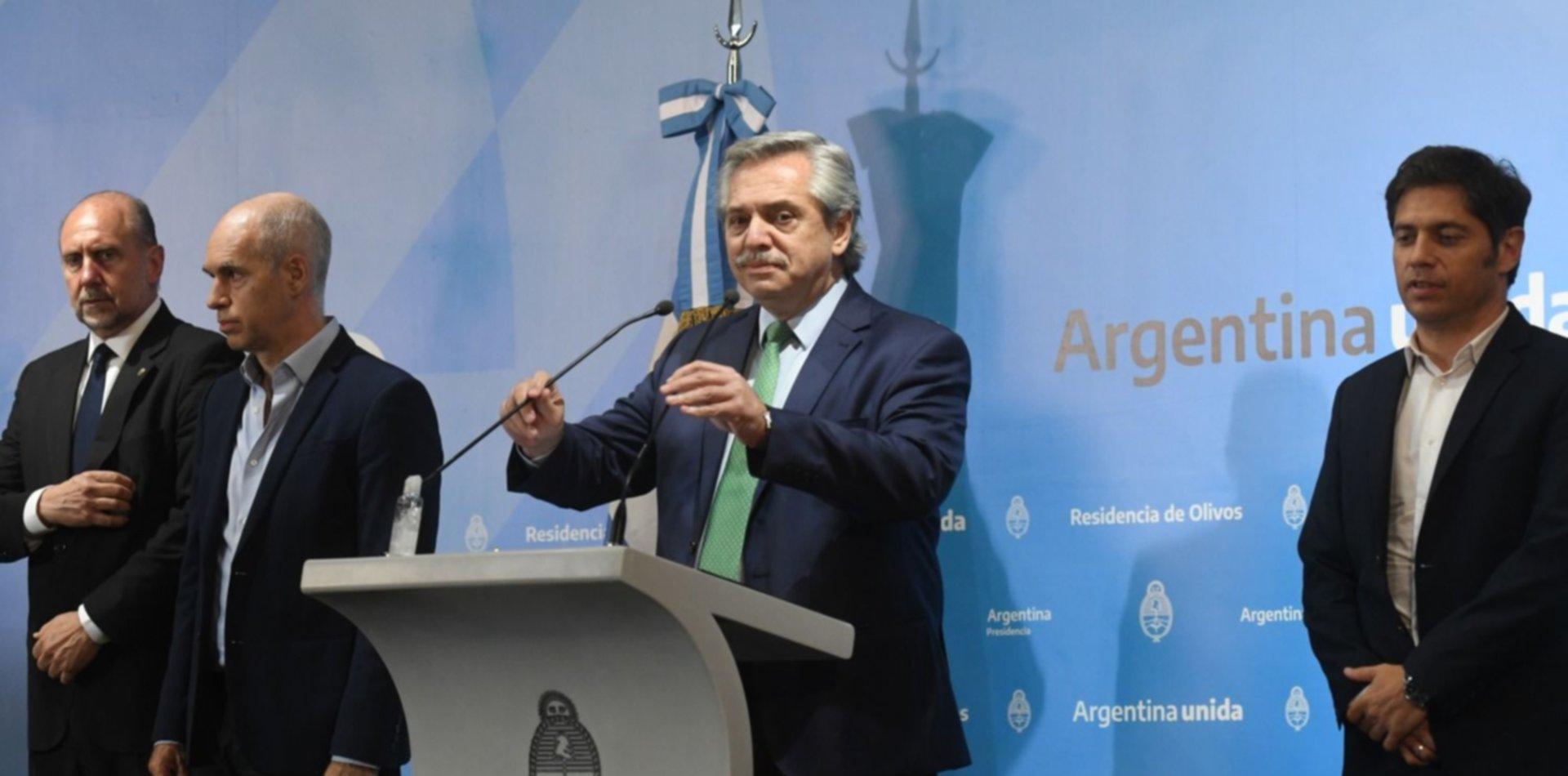 """Alberto Fernández explotó contra quienes incumplen la cuarentena: """"Los vamos a detener, son unos inconscientes"""""""