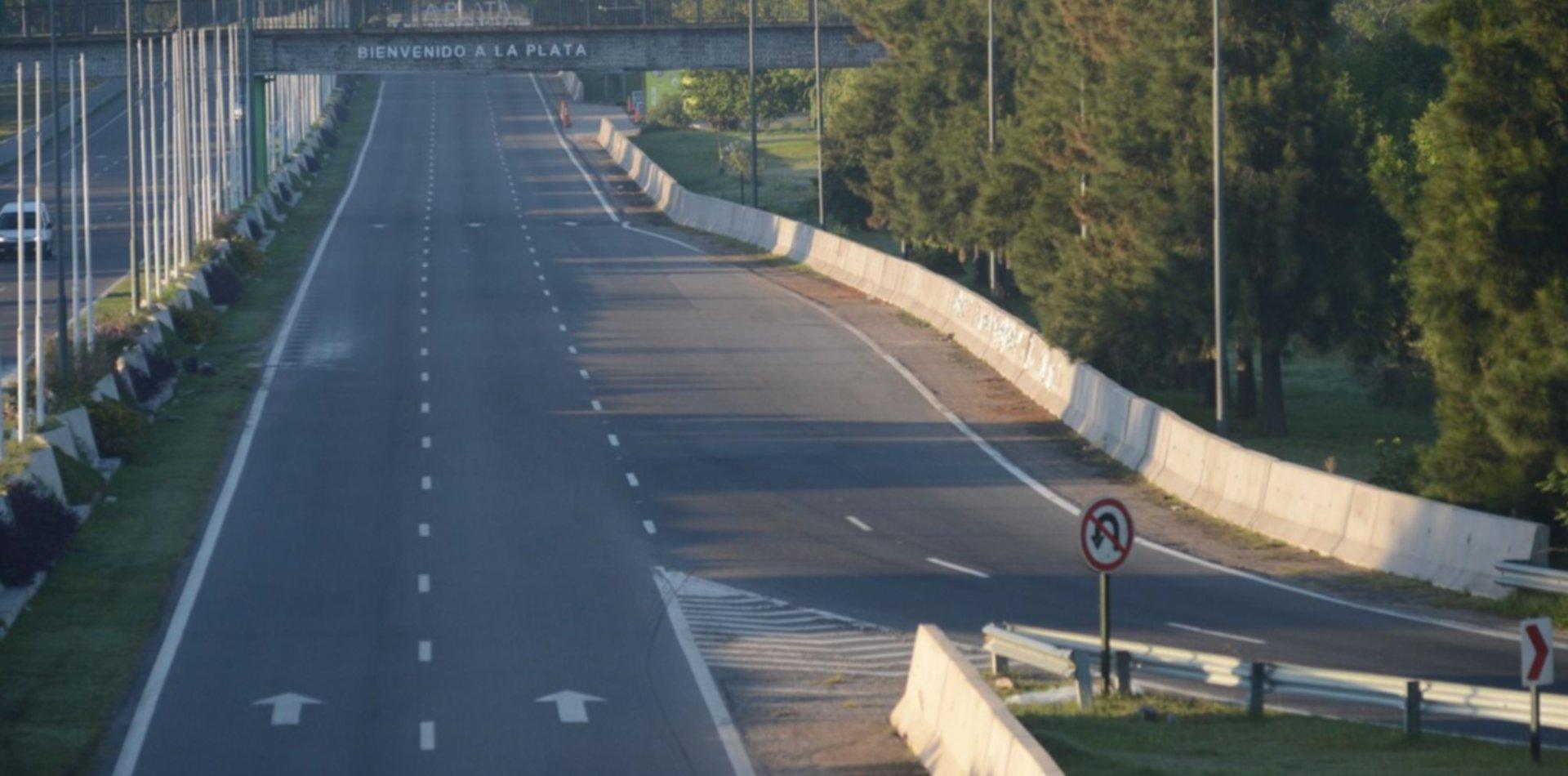 Cayó un 80% la circulación de vehículos en la Autopista La Plata-Buenos Aires por el aislamiento