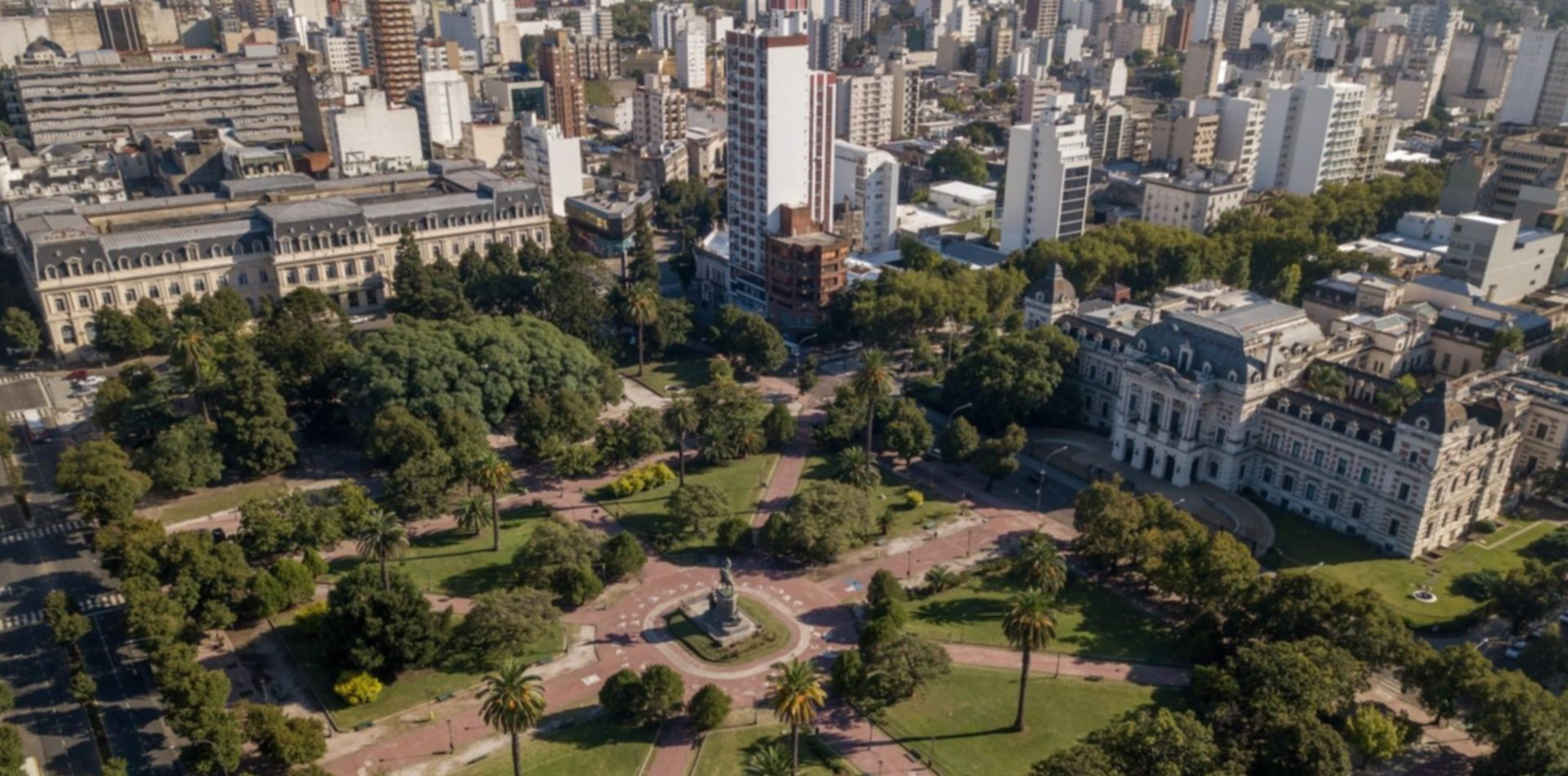 Jueves de primavera en La Plata con sol y 23°C