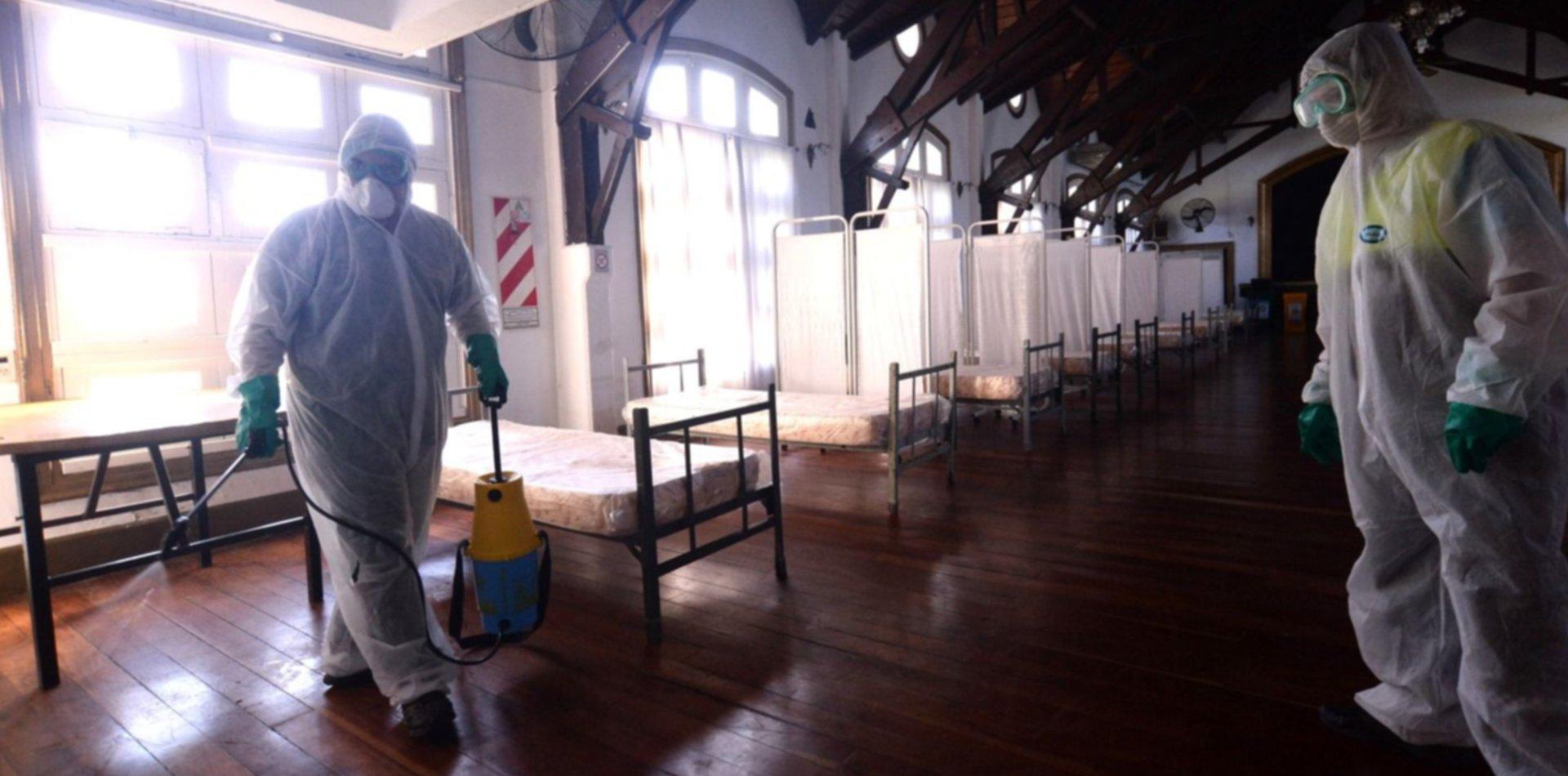 VIDEO: Así es por dentro el hospital de campaña montado en la República de los Niños