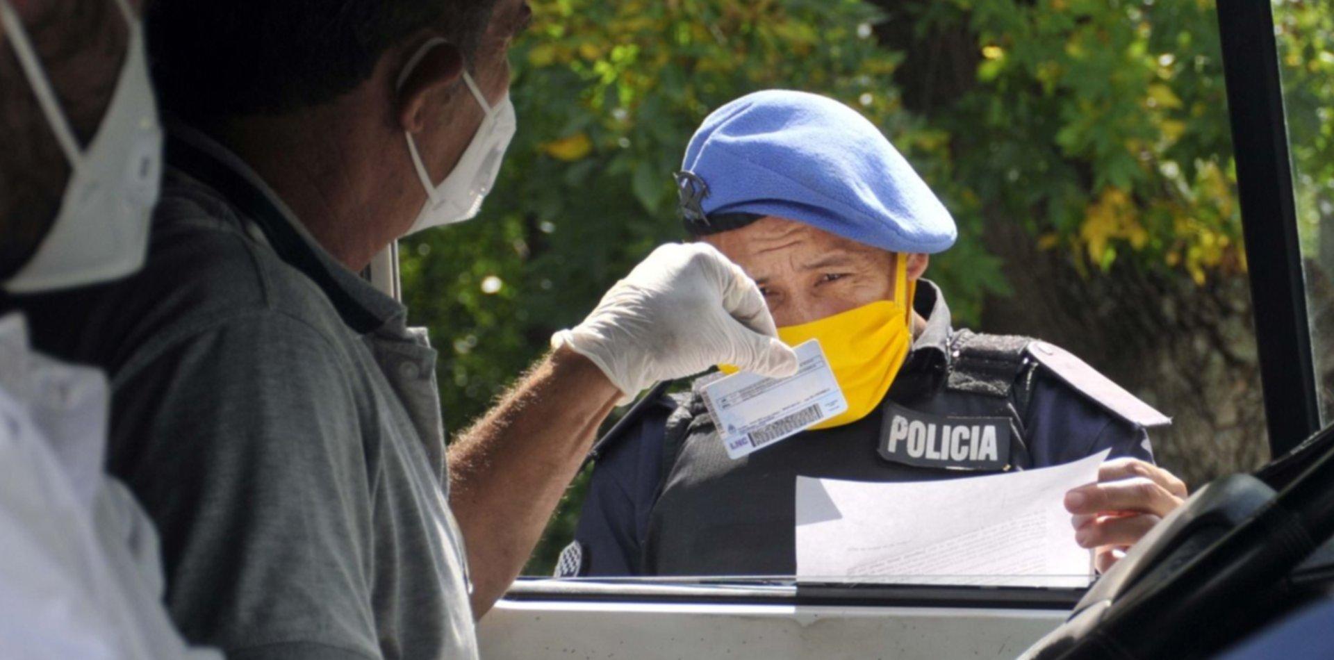 Las fuerzas de seguridad recibirán un bono por los operativos contra el coronavirus