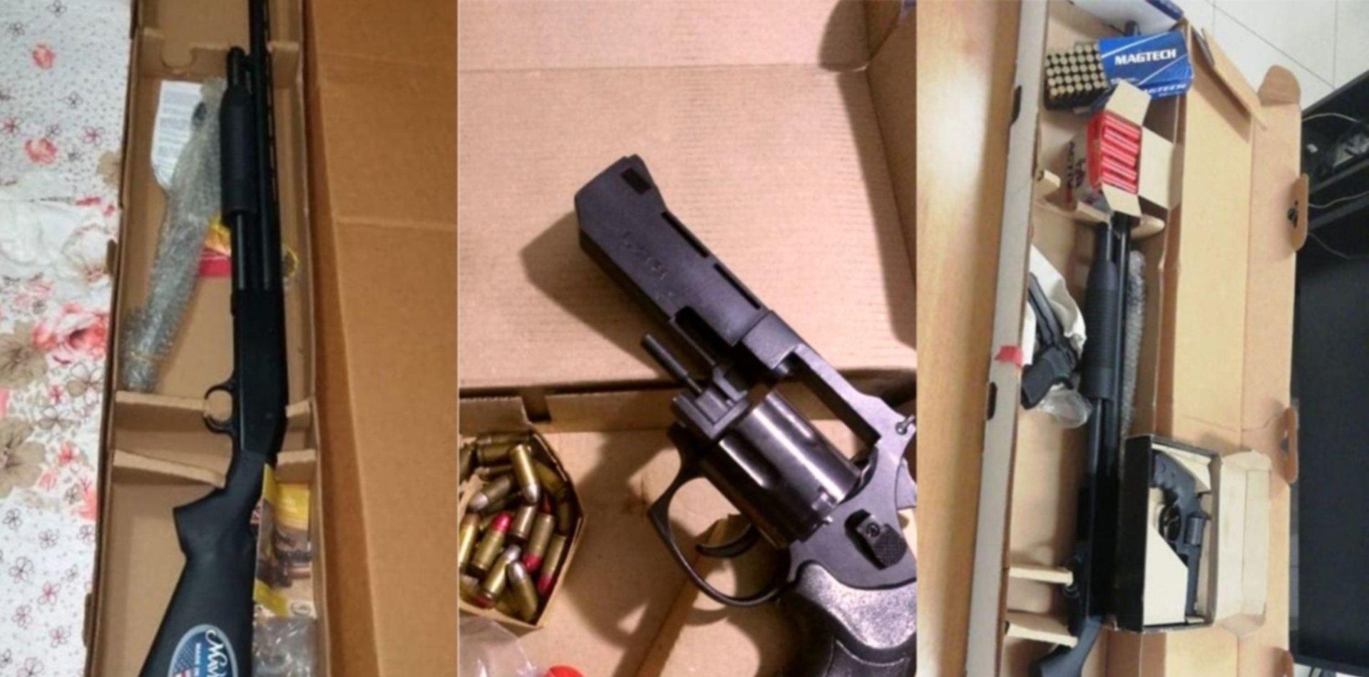 Una vecina lo acusó de romper la cuarentena y él la amenazó de muerte: tenía un arsenal