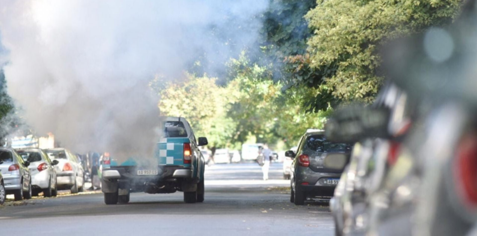 En La Plata refuerzan la fumigación para evitar contagios de dengue, zika y chikungunya