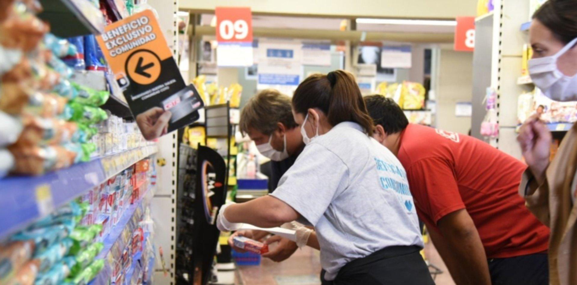 Última jornada de descuentos del Banco Provincia en los supermercados