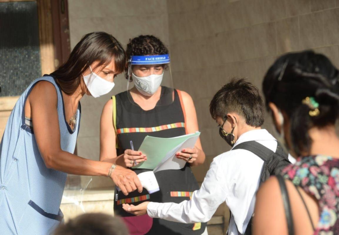La Provincia estudia un plan escalonado para la vuelta a las clases presenciales