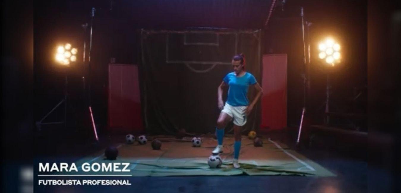 La publicidad de la futbolista trans de Villa San Carlos que es furor en la TV