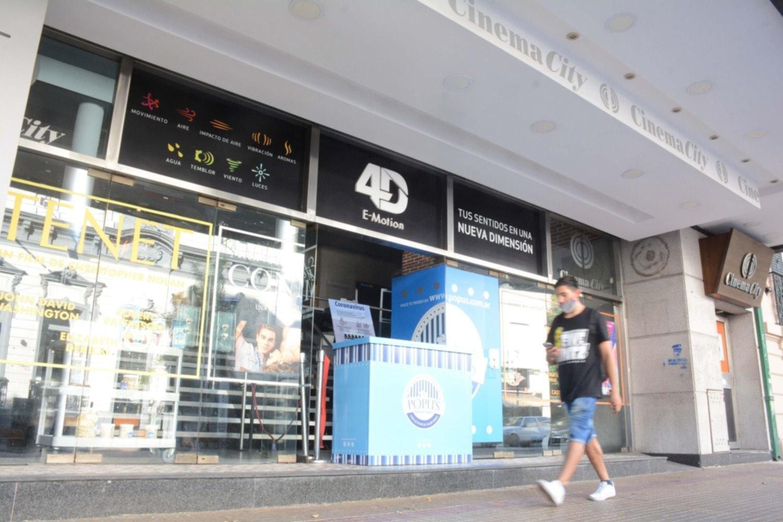 Autorizaron la apertura de los cines y en La Plata preparan la vuelta para este finde