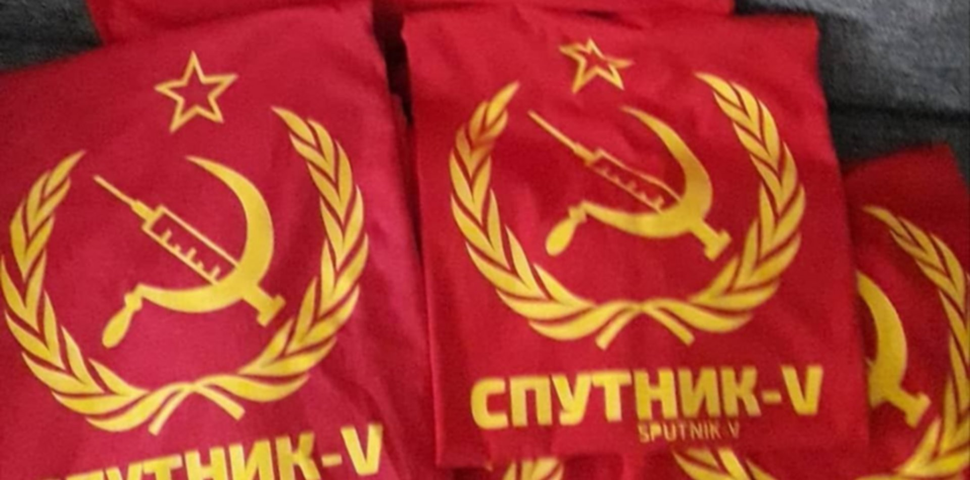 """""""Fue una burla frente a lo tragicómico"""", la historia detrás de la remera de la Sputnik V"""
