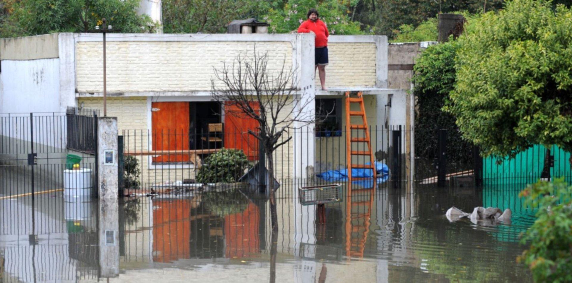 Mapeo, protocolo y capacitación: así será el plan ante el riesgo de inundación en La Plata