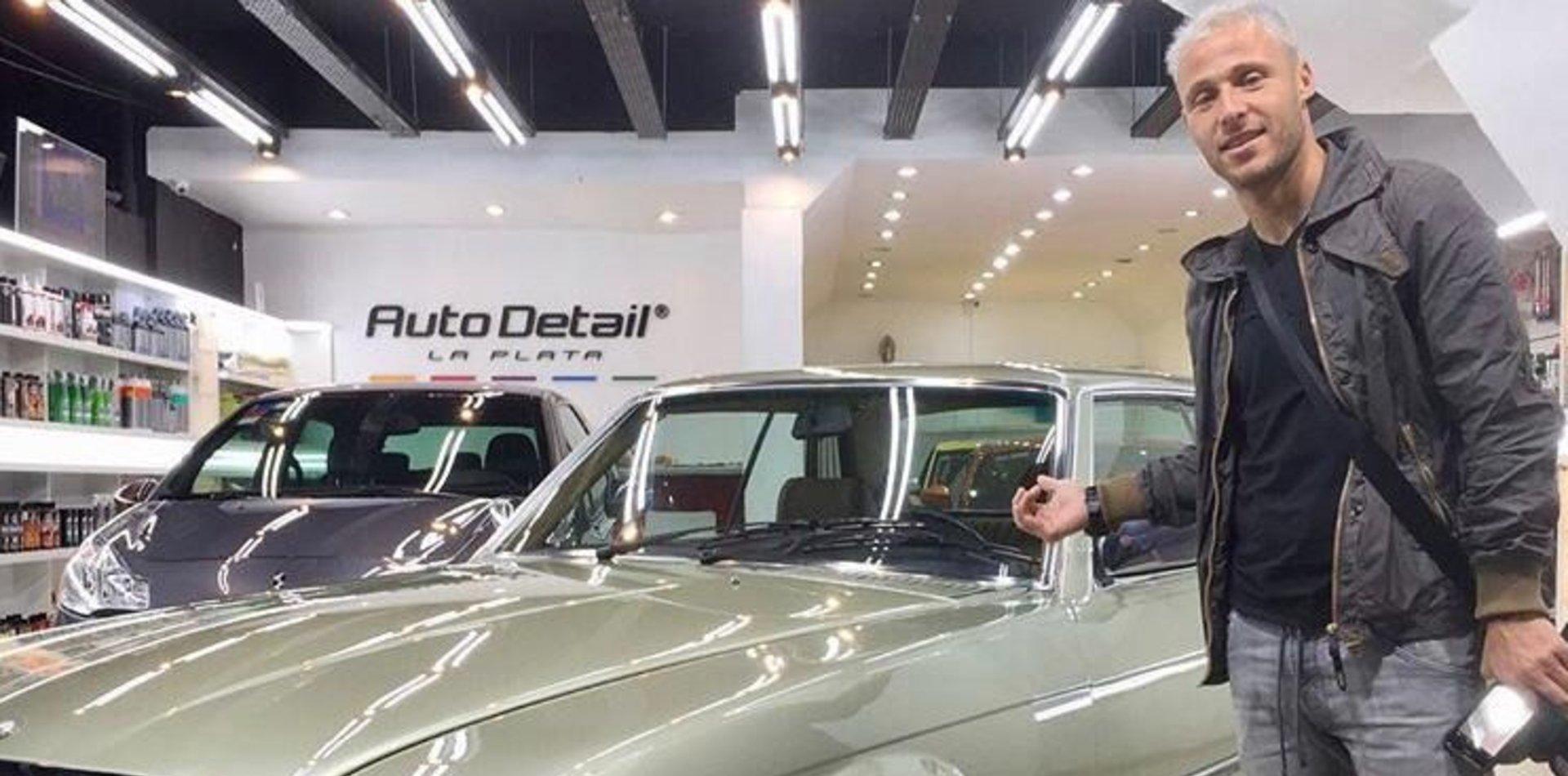 Damonte y la emocionante historia del auto que restauró tras la muerte de su hermano