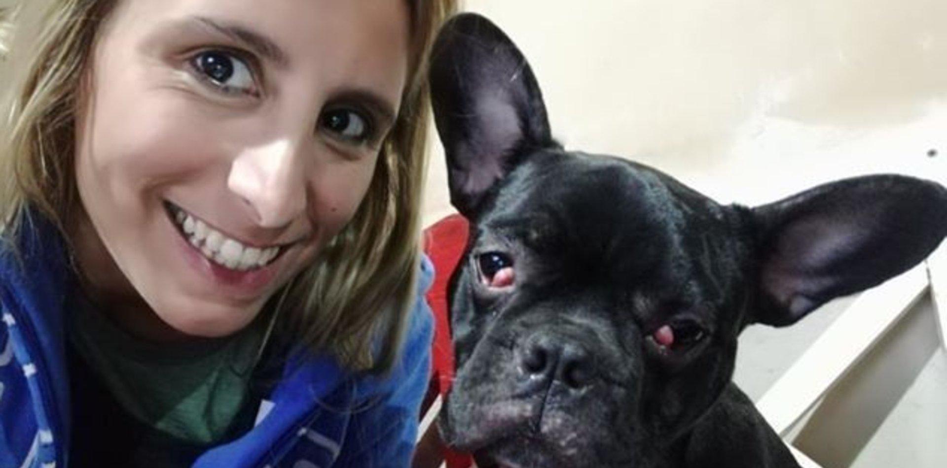 Emotivo reencuentro: le robaron hasta el perro y lo encontró una semana después