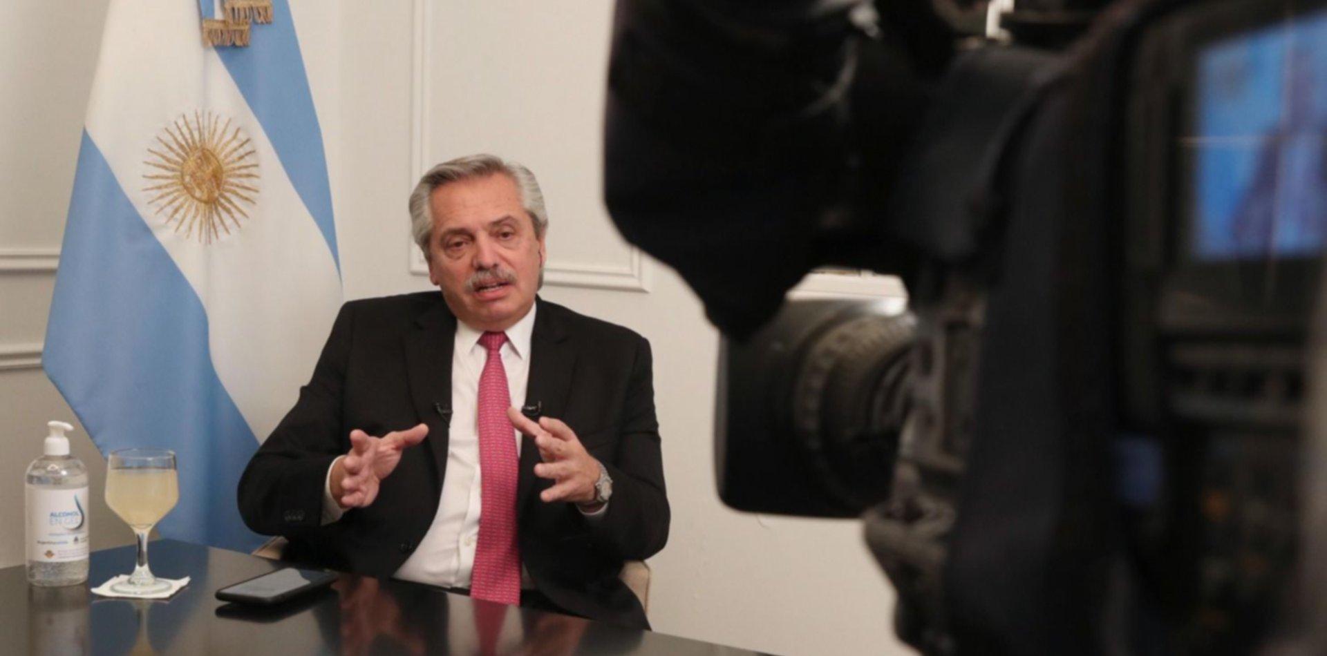 El presidente Alberto Fernández visitará La Plata en pleno aislamiento social