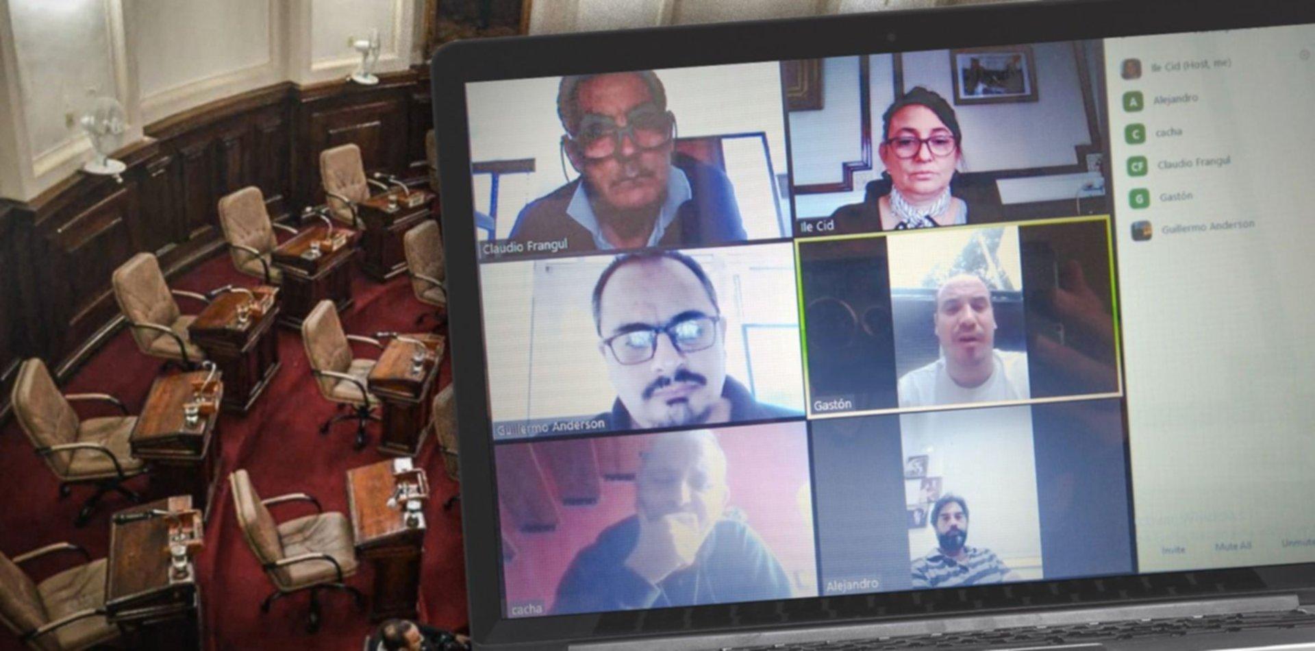 El Concejo Deliberante de La Plata hará una sesión virtual en plena pandemia de coronavirus