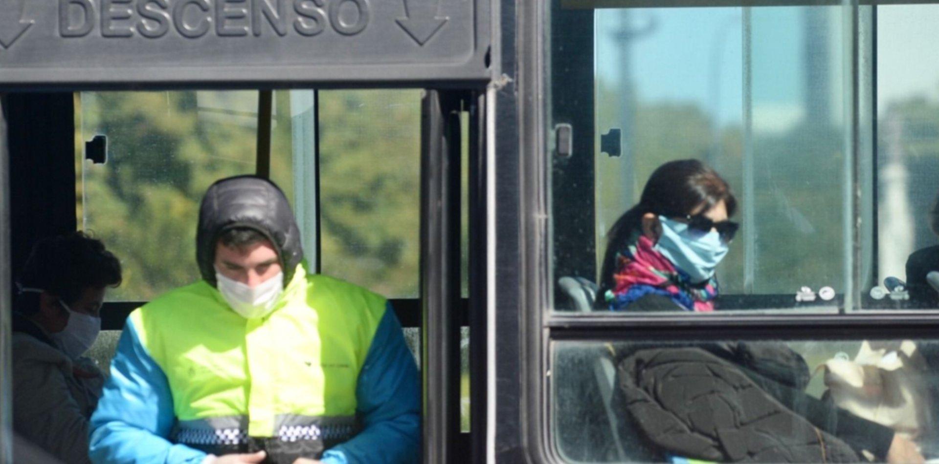 Aseguran que el transporte y los lugares cerrados son los principales focos de contagio