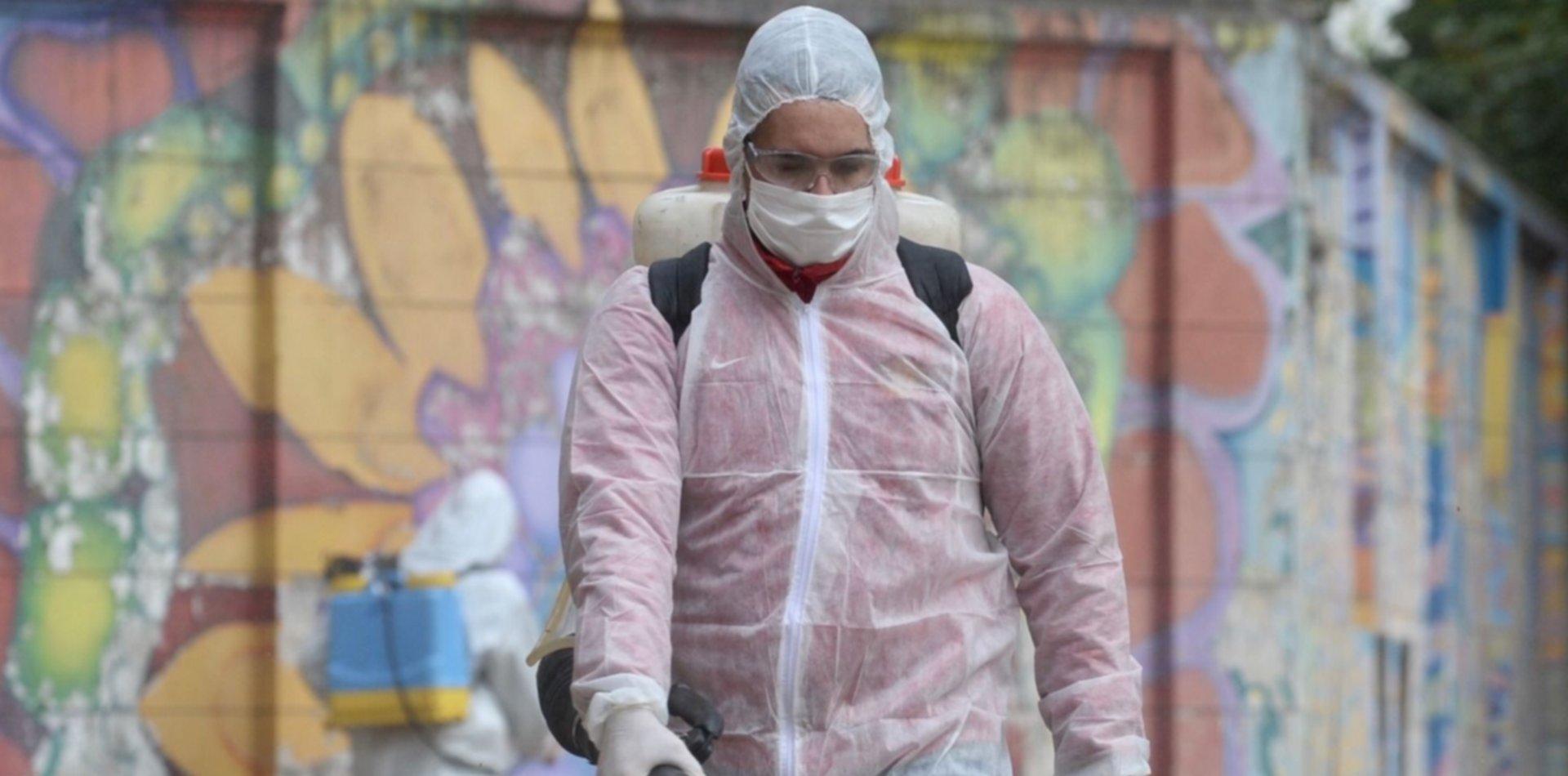 Montarán un operativo anti coronavirus en un barrio de La Plata