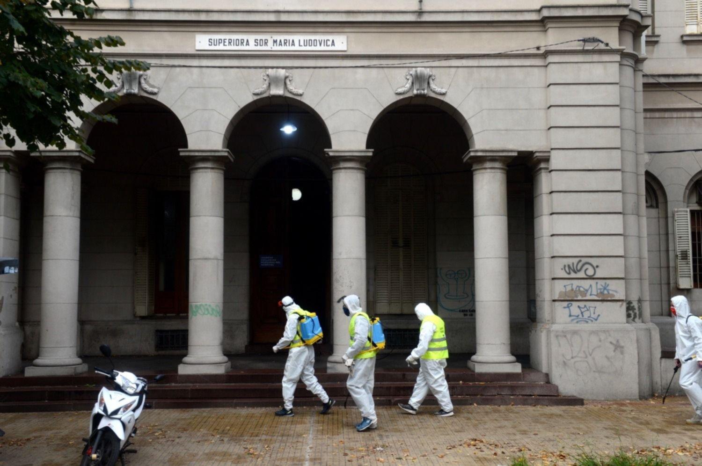 El Hospital de Niños tiene 140 trabajadores aislados por coronavirus