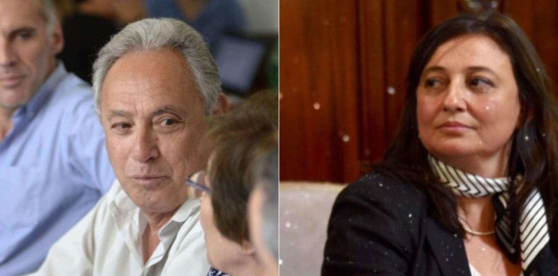 Malestar con el matrimonio Ileana Cid y Rubén Casanovas en el gabinete de Garro