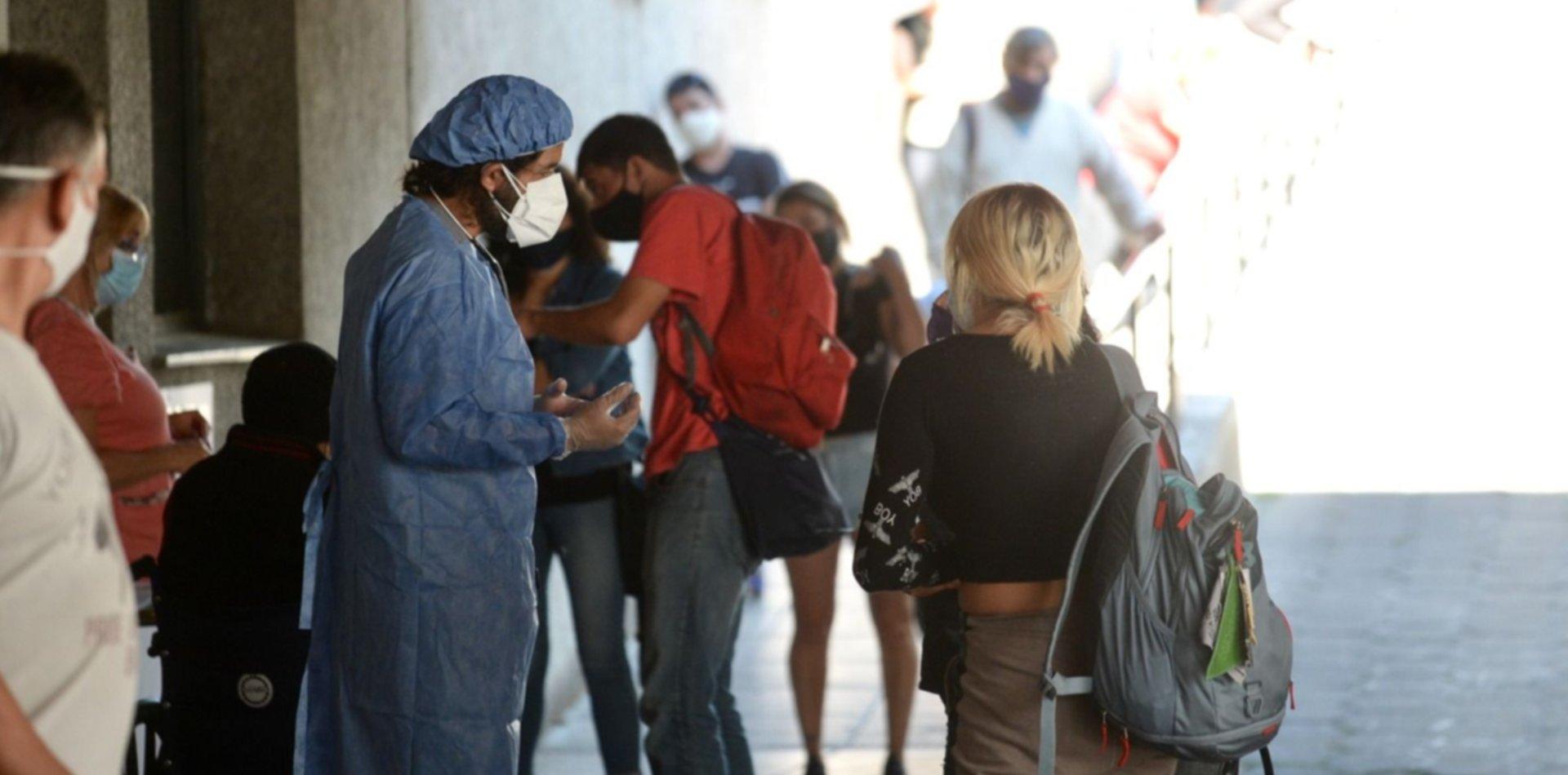Reportan 18 muertes por coronavirus y 307 contagios en el último día en La Plata