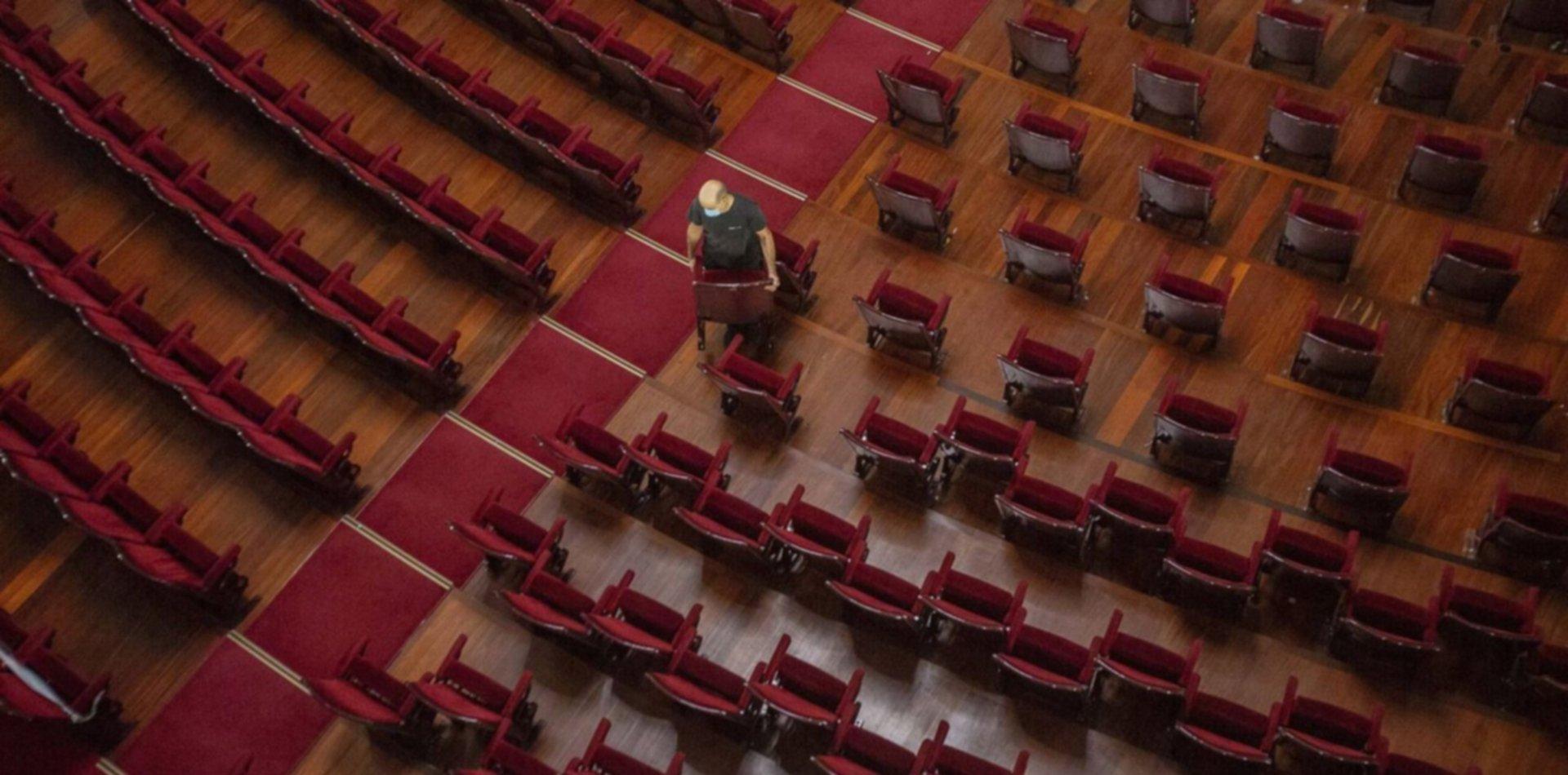 El Gobierno dará 50 millones a salas de teatro que debieron cancelar espectáculos
