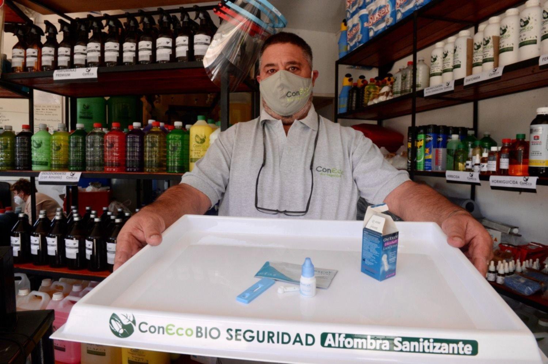 La empresa de La Plata que vende los test rápidos que mide anticuerpos de COVID-19